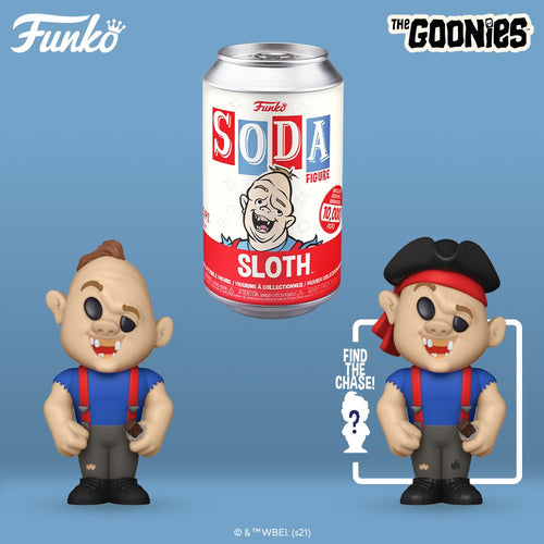 Funko Vinyl SODA: The Goonies - Sloth - Limited Edition 1-6 Chase
