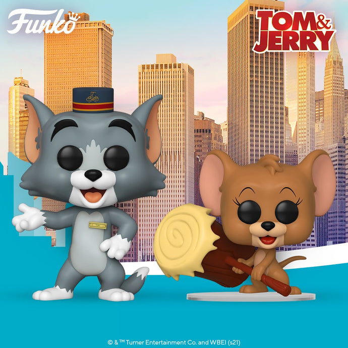 Funko POP! Movies: Tom and Jerry Set (2)