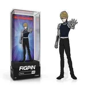 One Punch Man Genos FiGPiN Enamel Pin