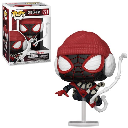 Funko POP! Spider-Man Miles Morales Game Winter Suit
