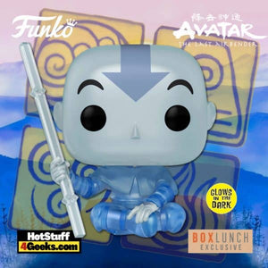 Funko Pop! Animation: Avatar The Last Airbender - Aang (Spirit) GITD Exclusive