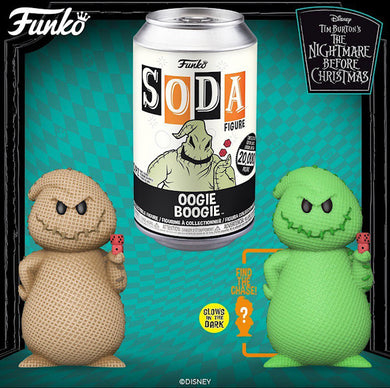 IN STOCK Funko Vinyl Soda TNBC Oogie Boogie with 1:6 Possible Chase