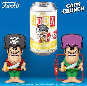 Funko Vinyl SODA: Quaker Oats- Jean LaFoote Limited Edition 1-6 Chase