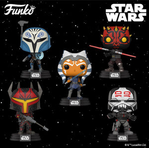 Funko POP! Star Wars: Clone Wars (S2)
