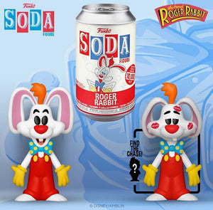 Vinyl SODA: Roger Rabbit- Roger w/ Limited Chase Edition 1-6