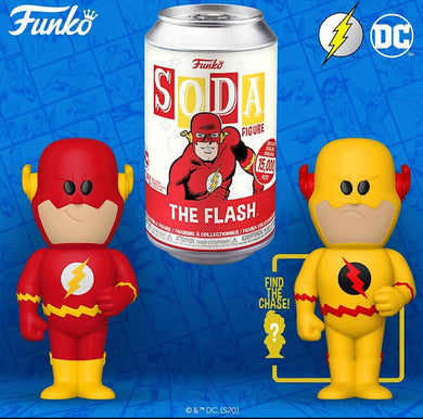 Vinyl SODA: DC- The Flash w/ Limited Chase Edition 1-6