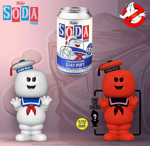Vinyl SODA: Ghostbusters - Stay Puft w/ Limited Chase Edition 1-6