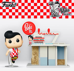 Funko POP! Town - Ad Icons: Bob's Big Boy Restaurant with Big Boy Pop!