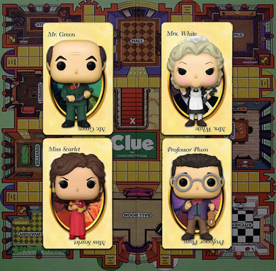 Funko POP! Retro Toys: Clue (Bundle)(x4)