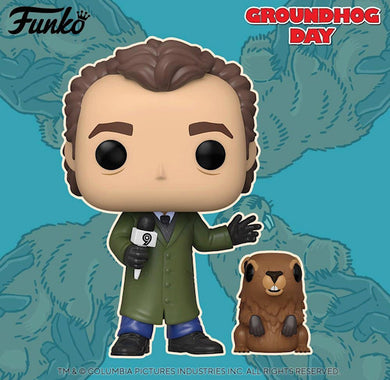 Funko POP! & Buddy: Groundhog Day: Phil w/ Punxsutawney Phil