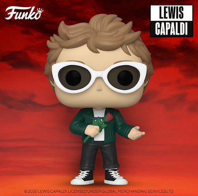 Funko POP! Rocks: Lewis Capaldi