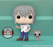 Funko POP! Animation: Fruits Basket- Yuki Sohma w/Rat (Specialty Series)