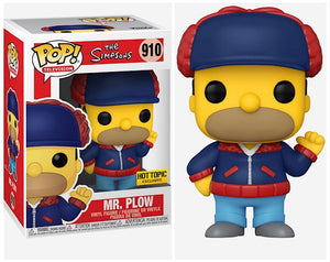 Funko POP! Animation: The Simpsons - Homer (Mr Plow) HT Exclusive