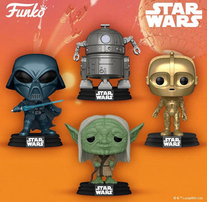 Funko POP! Star Wars: Concept Series Bundle (4)