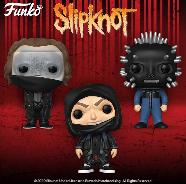 Funko POP! Rocks: Slipknot - (Set of 3)