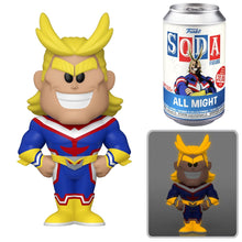 Funko Vinyl Soda: My Hero Academia All Might Limited Edition 1-6 Chase