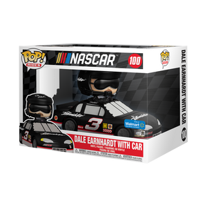 Funko POP! Ride: NASCAR Legends - Dale Sr. with Car - Walmart Exclusive