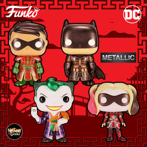Limited Edition (2021) POP! DC HEROES: IMPERIAL PALACE (Metallic) 3000pcs