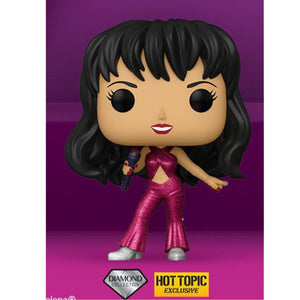 Funko POP!  Rocks: Selena w/ Burgundy Outfit Diamond Collection (HT Exclusive)