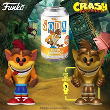 Vinyl SODA: Crash Bandicoot w/ Limited Chase Edition (Metallic)