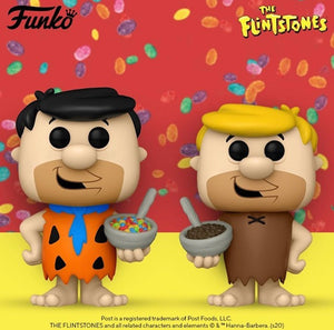 Funko POP! Ad Icons: 50th Anniversary Fruity & Cocoa Pebbles - Fred & Barney Set (2)