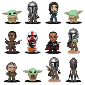 MM VINYL FIGURES: STAR WARS: THE MANDALORIAN - 12PC (Mystery Minis)