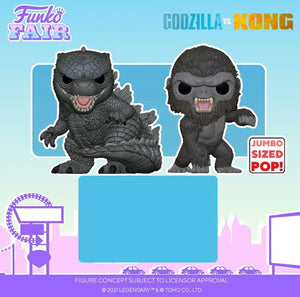 Funko POP! Movies: Godzilla vs. Kong 10-Inch 2021