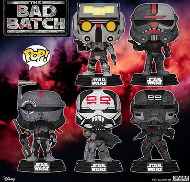 Funko POP! Star Wars: The Bad Batch (2021)
