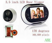 3.5 Inch Wide Angle Digital Peephole Camera & Doorbell