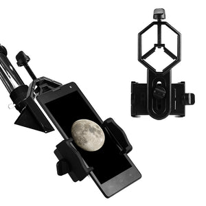 Universal Cell Phone Monocular Telescope Adapter Mount