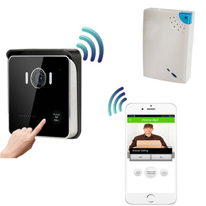 Smart WIFI Video Doorbell With Motion Sensor Alarm
