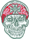 Skull Bandana w/Cross Patch