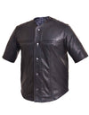 Motorcycle Vest- Unik Baseball Leather Shirt