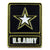 US Army Star Logo Pin