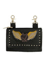 Wing Heart Clip Bag