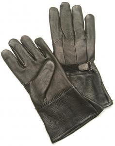 Black Deerskin with Thinsulate Gauntlet