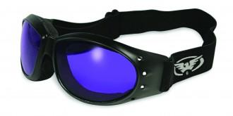 Eliminator Riding Goggles w/Colored Lens