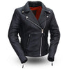Motorcycle Jacket- First FIL103NOCZ Allure Women's Leather Riding Jacket