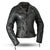 Monte Carlo Ladies Leather Motorcycle Jacket
