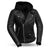 Ryman Women's Hooded Leather Motorcycle Jacket