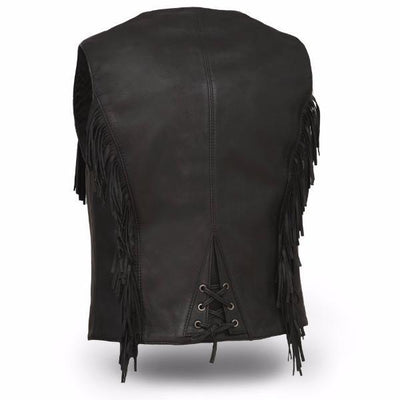 Motorcycle Vest- First Apache Back