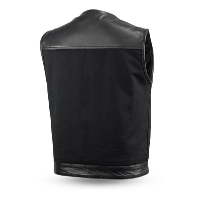 Motorcycle Vest- First 49/51 No Collar Back