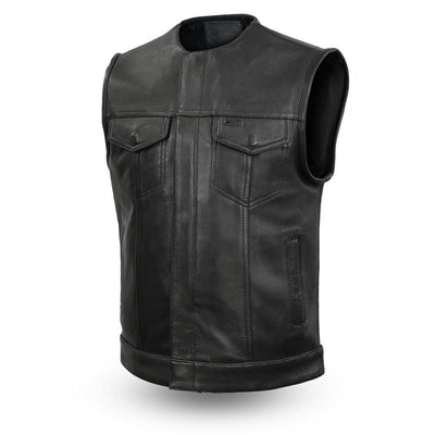Motorcycle Vest- First Highside Leather Vest
