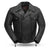 Mastermind Men's Leather Motorcycle Jacket