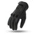 Pinnacle Men's Perforated Leather Motorcycle Gloves