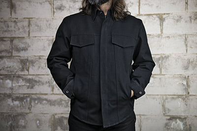 Mercer Raw Canvas Motorcycle Jacket