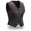 Motorcycle Vest- First Heiress Leather Vest