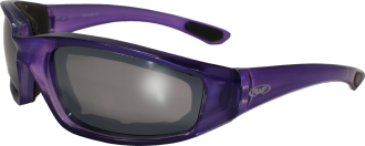 Kickback Riding Glasses w/Colored Frame