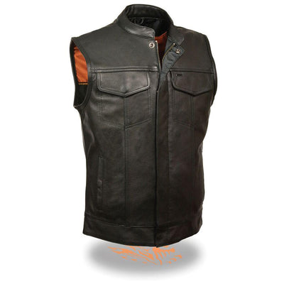 Motorcycle Vest- Milwaukee MLM3510 Leather Vest