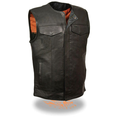 Motorcycle Vest- Milwaukee MLM3511 Leather Vest